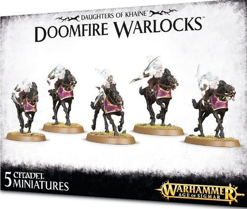 DAUGHTERS OF KHAINE DOOMFIRE WARLOCKS