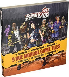"Zombicide - Season 3 ""Rue Morgue"" Tiles Pack Erweiterung"